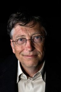 A famous example of an entrepreneur and inventor - Bill Gates (Photo by Danielle Smith/The Sydney Morning Herald/Fairfax Media via Getty Images).